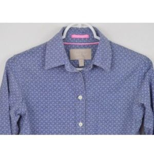Banana Republic Oxford XS Button Down Shirt Anchor